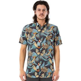 Rip Curl Hawaiian Short Sleeve Shirt Men, navy